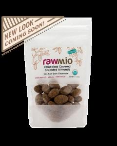 Rawmio Chocolate Covered Almonds - 2 oz
