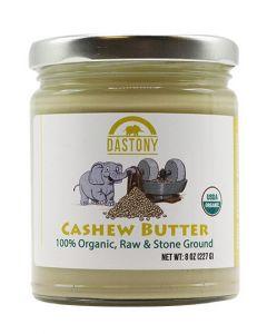 Stone Ground Organic Raw Cashew Butter - 8 oz