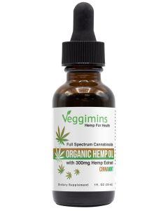 Veggimins Hemp Oil with Hemp Extract - Cinnamint - 300 mg