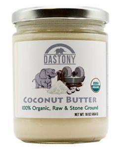 Stone Ground Organic Raw Coconut Butter - 16 oz