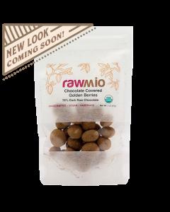 Rawmio Chocolate Covered Golden Berries - 2 oz