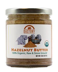 Stone Ground Organic Raw Hazelnut Butter - 8 oz