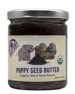 Stone Ground Organic Raw Poppy Seed Butter - 8 oz