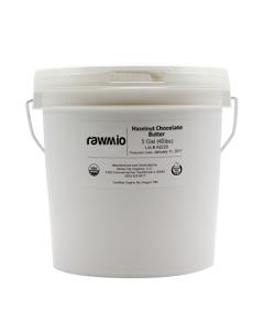 Rawmio Chocolate Hazelnut Butter - 5 Gallons