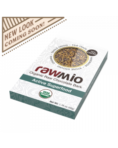 Rawmio Organic Stone Ground Gourmet Active Superfood Bark - 1.76 oz