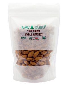 Truly Raw Supernova Almonds - 8 oz